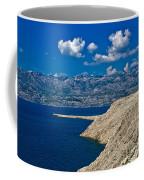 Velebit Mountain From Island Of Pag Coffee Mug