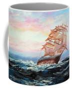Veliero In Navigazione Coffee Mug