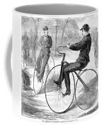 Velocipedes, 1868 Coffee Mug