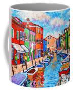 Venezia Colorful Burano Coffee Mug