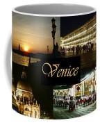 Venice By Night Coffee Mug