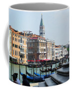 Venice Gondolas On Canal Grande Coffee Mug
