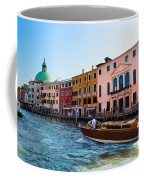 Venice Grand Canal View Italy Sunny Day Coffee Mug