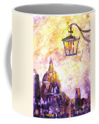 Venice Italy Watercolor Painting On Yupo Synthetic Paper Coffee Mug