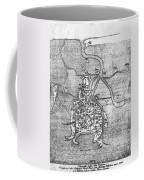 Venice: Map, 12th Century Coffee Mug