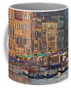 Venice Palazzi At Sundown Coffee Mug