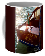 Venice Water Authority Boat Coffee Mug