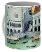Venice's Bridge Of Sighs Coffee Mug