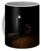 Ventura Pier At Night Coffee Mug by John Daly