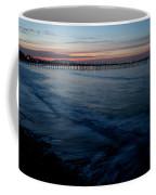Ventura Pier Sunrise Coffee Mug by John Daly