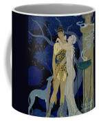 Venus And Adonis  Coffee Mug by Georges Barbier