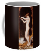 Venus Binding Her Hair Coffee Mug