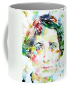 Vera Brittain - Watercolor Portrait Coffee Mug