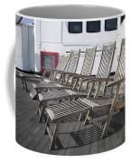 Verandah Seating 02 Queen Mary Ocean Liner Long Beach Ca Coffee Mug