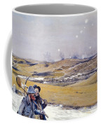 Verdun, 1916 Oil On Canvas Coffee Mug