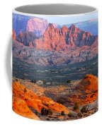 Vermillion Cliffs At Sunrise Coffee Mug