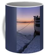Vermont Lake Champlain Sunset Nautical Boat  Coffee Mug
