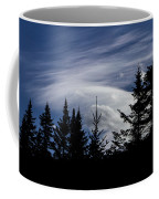 Vermont Tree Silhouette Clouds Cloudscape Coffee Mug
