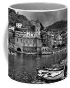 Vernazza - Cinque Terre In Grey Coffee Mug