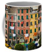 Vernazza Facades Coffee Mug