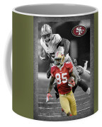 Vernon Davis 49ers Coffee Mug