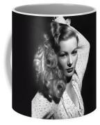 Veronica Lake Actress Coffee Mug