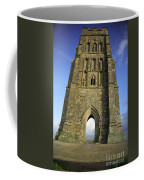 Vertical View Of Glastonbury Tor Coffee Mug