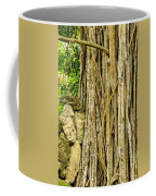 Vertical Vines Coffee Mug by Jess Kraft