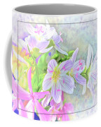 Very Tiny Wildflower Boquet Digital Paint Coffee Mug