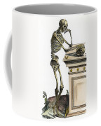 Vesalius: Skeleton, 1543 Coffee Mug
