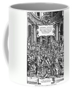 Vesalius Teaching Anatomy Coffee Mug