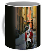 Nicoise Scooter Coffee Mug by Inge Johnsson