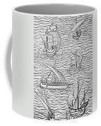 Vessels Of Early Spanish Navigators From The Narrative And Critical History Of American Coffee Mug