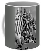 Veteran's Day Parade University Of Arizona Tucson Black And White Coffee Mug