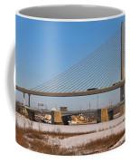 Veterans Glass City Skyway Pano Coffee Mug