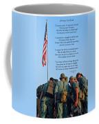 Veterans Remember Coffee Mug by Carolyn Marshall