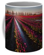 Vibrant Dusk Tulips Coffee Mug