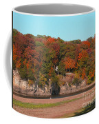 Vibrant Fall Riverside Coffee Mug