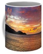 Vibrant Tropical Sunset Coffee Mug