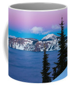 Vibrant Winter Sky Coffee Mug
