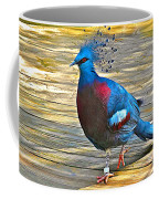 Victoria Crowned Pigeon In San Diego Zoo Safari In Escondido-california Coffee Mug