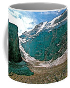 Victoria Glacier From Plain Of Six Glaciers In Banff Np-alberta Coffee Mug