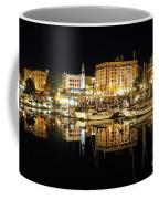 Victoria Inner Harbour At Night Coffee Mug