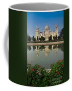 Victoria Memorial Kolkata India - Reflection On Water Coffee Mug