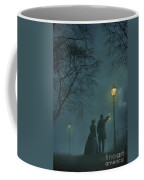 Victorian Couple At Night Coffee Mug