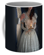 Victorian Couple At Night With Candle Coffee Mug