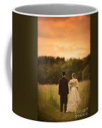 Victorian Couple In A Summer Meadow Coffee Mug