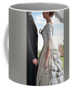 Victorian Couple In The Grounds Of A Country House Coffee Mug