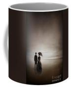 Victorian Couple On The Beach Coffee Mug
