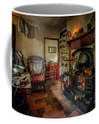Victorian Fire Place Coffee Mug by Adrian Evans